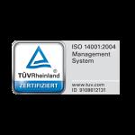 Arte Interiorismo tiene la Certificación de calidad ISO 14001:2004
