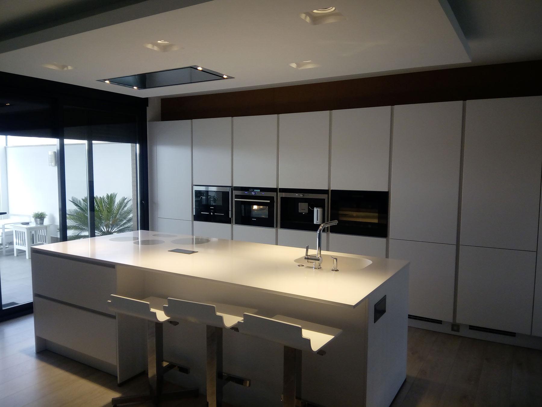 Reforma De Salón Y Cocina Con Isla Arte Interiorismo